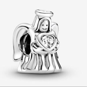 PANDORA Sterling Silver, Angel of Love Charm, NWT